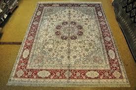 8x10 oriental rug image is loading 8 x silk ivory 8 x 10 wool oriental rugs