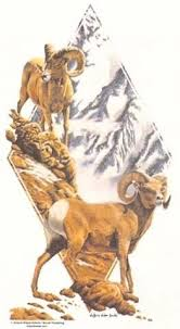 Bighorn Sheep T SHIRT Sweatshirt Quilt Fabric Block Tote & Like this item? Adamdwight.com