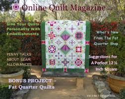Quilts Magazines & Online Quilt Magazine.com - Quilting Board Adamdwight.com