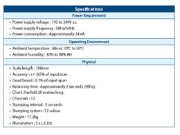 Ambient Temperature Chart Heat Treatment Recorders Heat Treatment Equipment Post