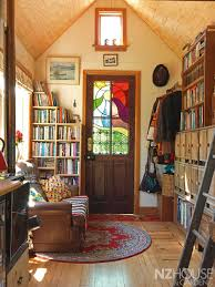 150 Square Feet Room New Zealand Woman Builds Tiny Home Of Recycled Materials For