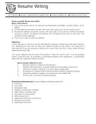 Resume Objective Statement Examples For Marketing In A Resumes