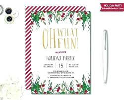 Cool Christmas Invitations Ugly Christmas Party Invitations