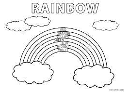 Click on the image you want to color, this will open page displaying large picture you selected. Free Printable Rainbow Coloring Pages For Kids