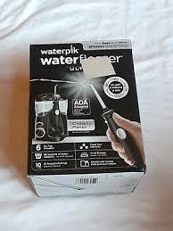 waterpik ultra countertop water flosser wp 112w black