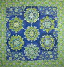 best English Paper piecing   Honeycomb quilts images on     Craftsy
