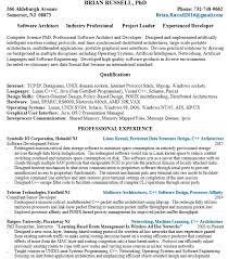 16 Free Sample Storage System Architect Resumes Best Resumes 2018