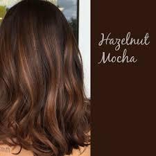 Light Hazelnut Brown Hair Color Hazelnut Mocha Brown Hair Balayage Mocha Brown Hair Hair
