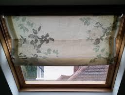 how to make roman blinds for velux windows office skylight cover
