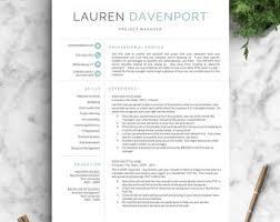 Landed Design Studio Modern Resume Template Buy Single Sheets Resume Paper