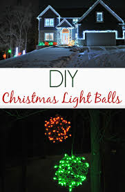 diy christmas lighting. DIY Christmas Light Balls. Easy Outdoor Holiday Lighting Idea! Diy