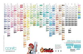 Touch Markers Blank Color Chart Www Bedowntowndaytona Com