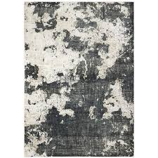 oriental weavers harmony abstract gray area rug 5 3