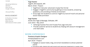 Yoga Instructor Cover Letter Best Resumes