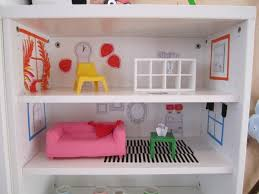 ikea huset doll furniture. even an ordinary bookcase can be transformed into a dollhouse i snapped this shot from the ikea catalogue launch party in new york last month ikea huset doll furniture l