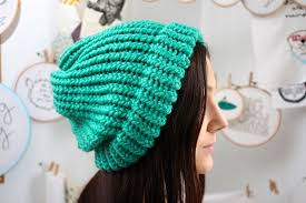 Loom Hat Patterns Awesome Knit A Slouchy Hat On A Round Loom 48 Steps With Pictures