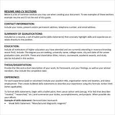 Student Cv Examples Sample Student Cv Template 9 Download Free Documents In Pdf Word
