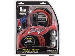 watt amp wiring kit ewiring complete 4 gauge amplifier installation kit kicker 600 watt 12 034 subwoofers pair sealed box enclosure