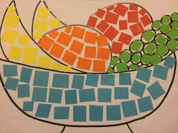 Simple Mosaic Art Designs Paper Mosaic Art For Stage 1 So Simple And Adaptable For A