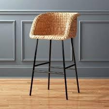 modern black leather bar stools swivel kitchen extraordinary stool wooden