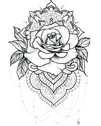 Free Printable Flower Coloring Pages For Adults Flower Coloring