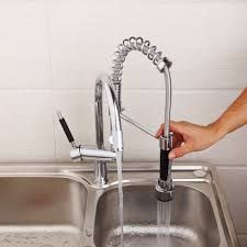 Kemaidi Kitchen Mixer Valve Water Taps Pull Out Design Kitchen Sink