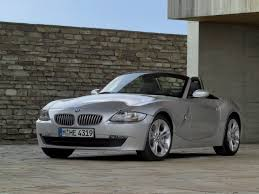 2006 BMW Z4 M Roadster - Silver - Side Angle - 1280x960 Wallpaper