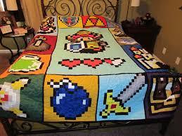 Zelda like Video Game Full Size Quilt reserved for by McFrogling ... & Zelda like Video Game Full Size Quilt reserved for by McFrogling, $260.00 Adamdwight.com
