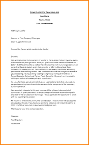 Letter Intent New Job Application Teacher Creative Fresh