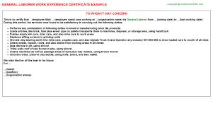 Ab Initio Developer Work Experience Certificates Experience