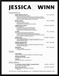 Gallery Of High School Graduate Resume Examples