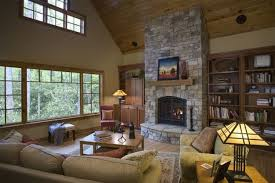 Of Living Rooms With Area Rugs Modern Living Room With Stone Fireplace Green Area Rug Green Beige