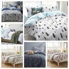 ikea twin sheets cool teenage bedding with machine washable blue and white pine