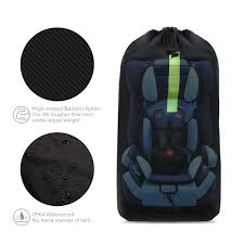 car seat travel bag baby child car seat carrying travel case bag with backpack shoulder strap