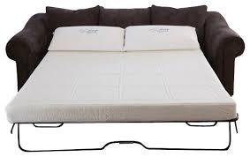 Gel Memory Foam Sofabed Sleeper Replacement Mattress, Full modern-sleeper- sofas