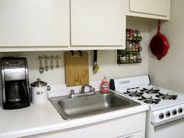 kitchen silver single sink near black coffee maker white countertops color under casual cabinet practice flavor