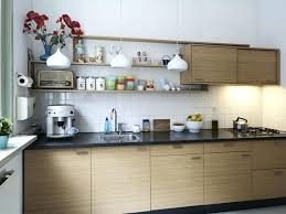 image of luxury simple kitchen cabinet design layout