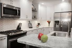 Image Gray White Kitchen Cabinets And Backsplash Kitchen Design Blog Kitchen Magic What Countertop Color Looks Best With White Cabinets