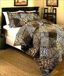 animal print comforter set leopard print comforter sets twin animal print comforter