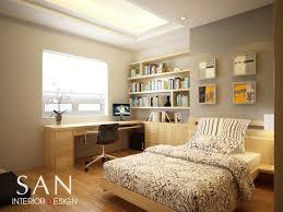 Interior Design Small Bedroom Bright And Modern 11.