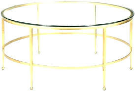 gold table lamp with black shade end round contemporary