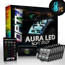 Details About Aura Led 8pc Boat Interior Lighting Kit With Multi Color Light Features Remote