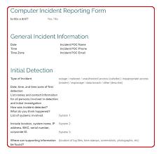 Best Free Computer Incident Response Templates And Scenarios