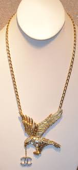 chanel eagle necklace 2001 at 1stdibs