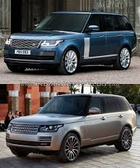 2018 land rover vogue. perfect vogue 2018 range rover vs 2013 front three quarters on land rover vogue