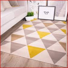 ruga möbel 578061 yellow mustard grey geometric rug ochre nordic with regard to ruga