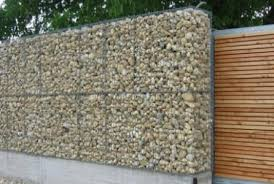 Small Picture Gabion Fences and Stone Walls Rock fence design UK
