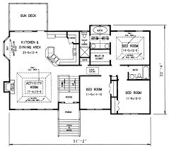 upper level split foyer house plans