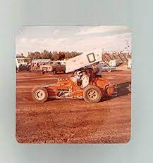 Daryl Daugherty-#7-Sprint Car-Color-Race Photo-1977 at Amazon's Sports  Collectibles Store