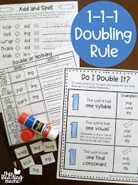 1 1 1 Doubling Rule Printables This Reading Mama